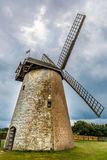 Windmill on Isle of Wight in summer Royalty Free Stock Photo