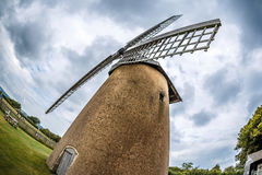 Windmill on Isle of Wight in summer Stock Photography