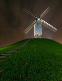 Windmill. Just a windmill found in Bruges, Belgium Stock Photo