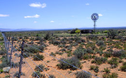 Windmill in the Karoo Desert Stock Photos