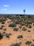Windmill in the Karoo Desert Stock Images