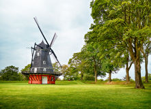 The windmill at Kastellet in Copenhagen. Stock Photography