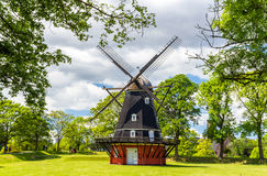 Windmill in Kastellet fortress Stock Image