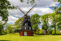 Windmill in Kastellet fortress, Copenhagen Royalty Free Stock Photography