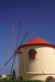 Windmill Kefalonia Stock Images