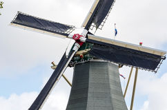 Windmill in Keukenhof Stock Images