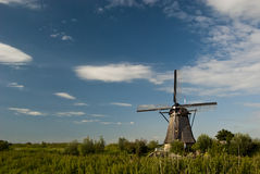 Windmill at Kinderdijk Stock Photo