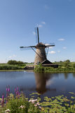 Windmill at Kinderdijk Royalty Free Stock Image