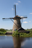Windmill at Kinderdijk Royalty Free Stock Photography