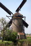 Windmill of Kinderdijk Royalty Free Stock Image