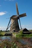 Windmill in Kinderdijk Royalty Free Stock Image