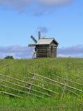 Windmill on Kizhi island Stock Photography