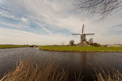 Windmill or kockengen Royalty Free Stock Images