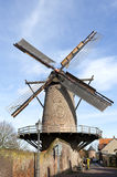 Windmill Kriemhildemuhle, city Xanten, Germany Stock Photos