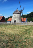 Windmill in Kuzelov in Southern Moravia Royalty Free Stock Photo