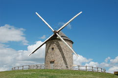 Windmill La Batie, France Stock Photos