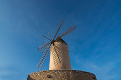 Windmill in La Llonja Royalty Free Stock Photography
