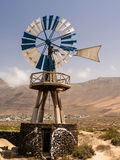 Windmill in Lanzarote, Canary Islands Stock Image
