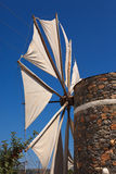 Windmill in the Lasithi Plateau Stock Photos
