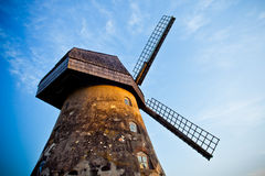 The windmill in Latvia Royalty Free Stock Image