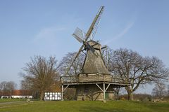 Windmill Levern (Stemwede, Germany) Royalty Free Stock Image