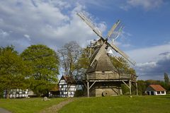 Windmill Levern (Stemwede, Germany) Royalty Free Stock Images