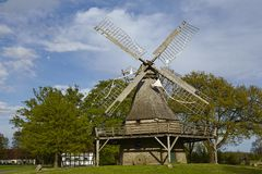 Windmill Levern (Stemwede, Germany) Stock Images