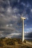 Windmill. Llandscape wind farm Navarra, spain Stock Photo