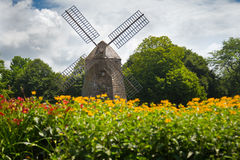 Windmill Long Island stock images