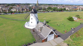 Windmill at Lytham Stock Photography