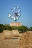 Windmill, Mallorca. Mallorca, Windmill. Spain. Mallorca - island. Mallorca landscape Stock Photos