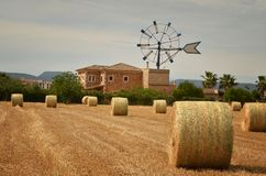 Windmill, Mallorca. Mallorca, Windmill. Spain. Mallorca - island. Mallorca landscape Stock Photography