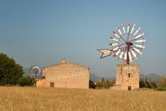 Windmill, Mallorca. Stock Photos