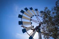 Windmill in Mallorca Stock Photos
