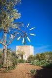 Windmill in Mallorca Royalty Free Stock Photos