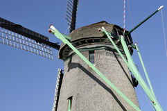 Windmill mechanism, zaanse schans Stock Photos