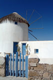 Windmill of Mikonos Royalty Free Stock Photography