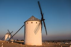 Windmill, Mill, Building, Sky stock image