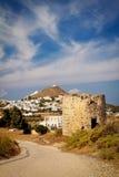 Windmill at Milos island Royalty Free Stock Photography