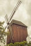 Windmill Moulin de la Galette (Blute-aletta), Parigi Immagini Stock Libere da Diritti