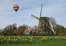 The windmill museum in the Amsterdam Royalty Free Stock Image