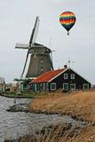 The windmill museum in the Amsterdam Royalty Free Stock Photo