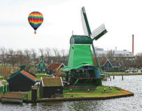 The windmill museum in the Amsterdam Royalty Free Stock Photography