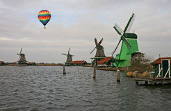 The windmill museum in the Amsterdam Stock Images