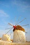 Windmill of Mykonos Stock Photography