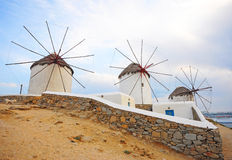 Windmill of Mykonos Royalty Free Stock Photography