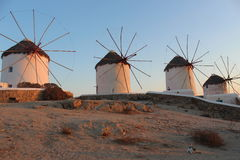 Windmill, Mykonos, Greece Royalty Free Stock Photos