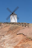 Windmill near Alcazar de San Juan Stock Photo