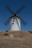 Windmill near Alcazar de San Juan Royalty Free Stock Photos