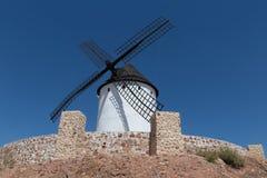 Windmill near Alcazar de San Juan Royalty Free Stock Photography